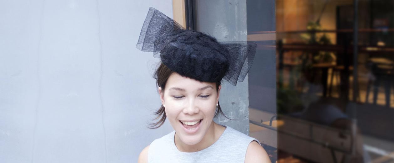 girl in john boyd hat - Tokyo