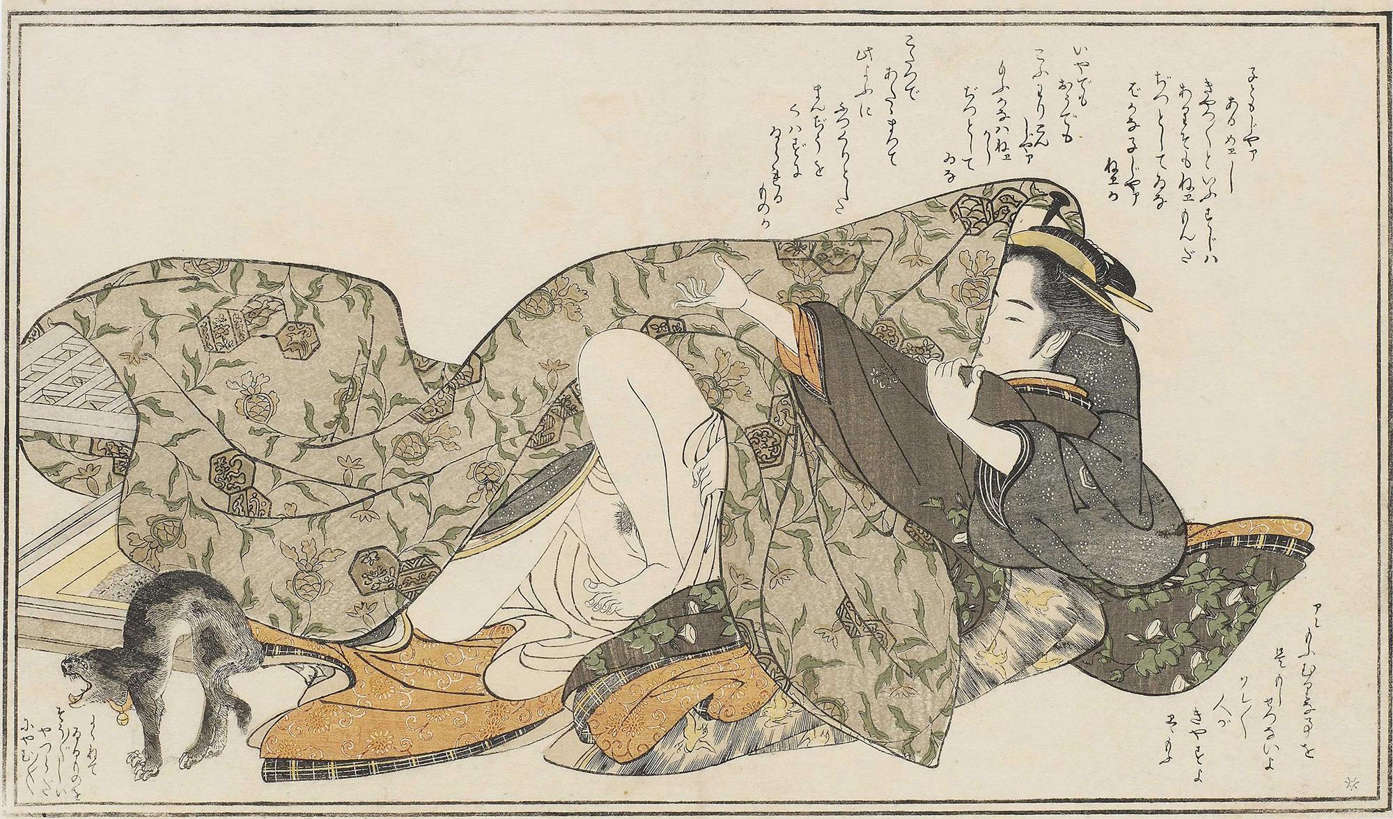 Katsukawa Shunshō print