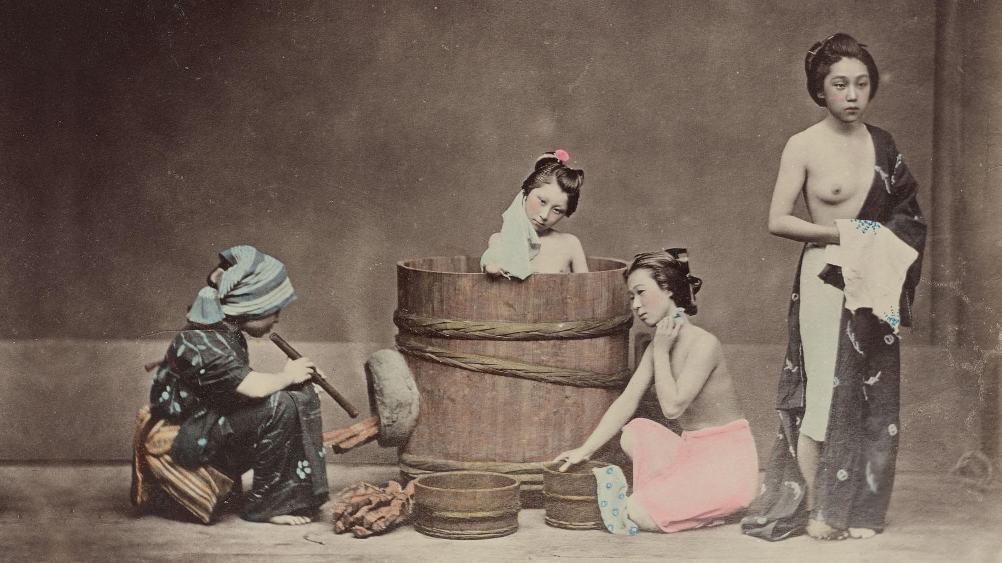Yoshiwara girls 1881