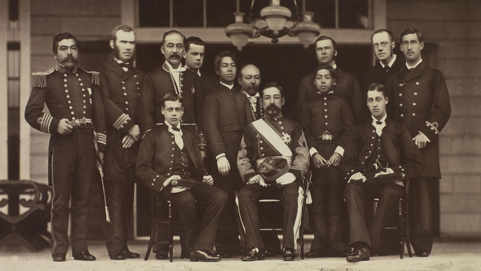Tokyo Mikado palace 1881